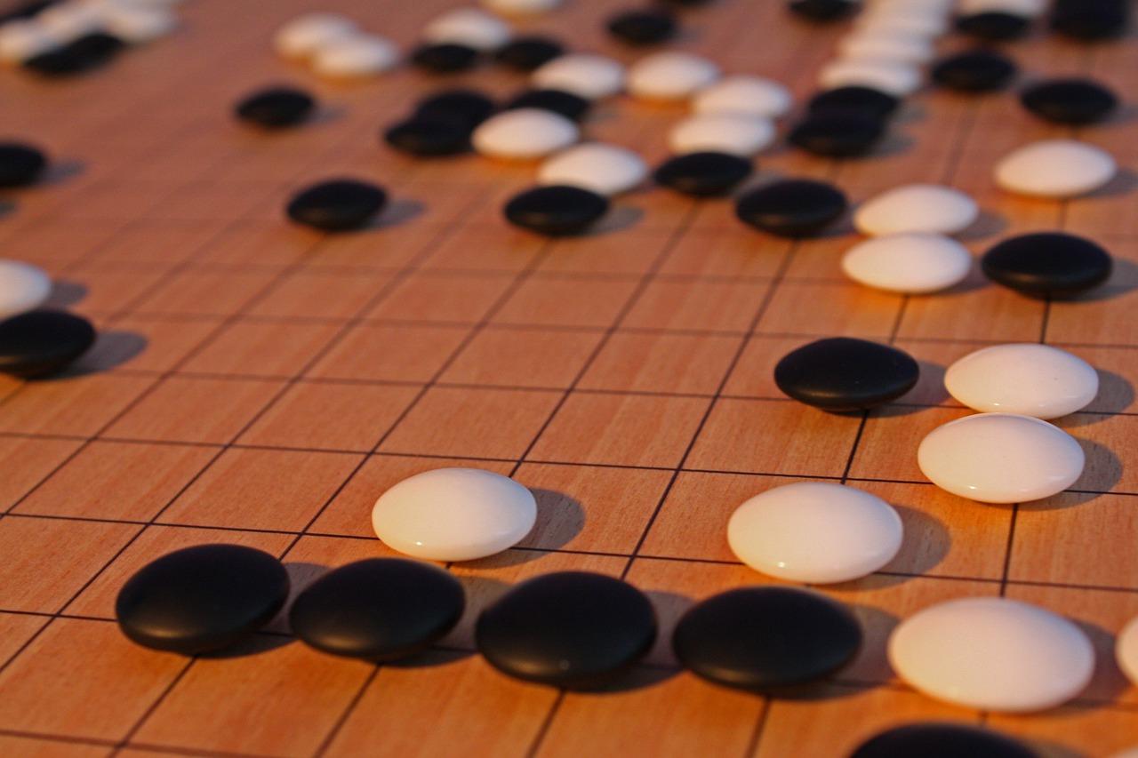 囲碁で遊ぶ